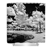 Infrared Indian River State College Hendry Campus #11 Shower Curtain