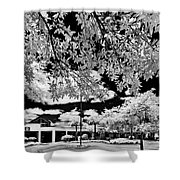 Infrared Indian River State College Hendry Campus #6 Shower Curtain