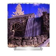Infrared Mill 1 Shower Curtain