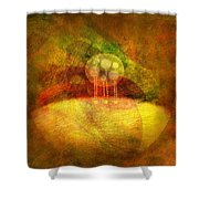 Infused... Shower Curtain