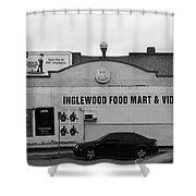 Inglewood Food Mart Shower Curtain