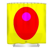 Inglow Shower Curtain by Eikoni Images