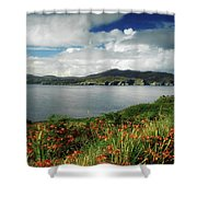 Inishowen Peninsula, Co Donegal Shower Curtain