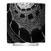 Initiation Well Shower Curtain by Carlos Caetano