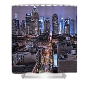 Ink 48 East Shower Curtain
