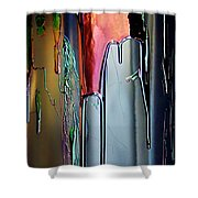 Ink Drum Shower Curtain