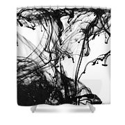 Ink IIi Shower Curtain