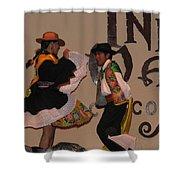 Inka Dancers Shower Curtain