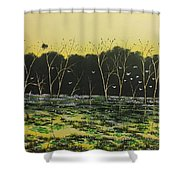Inland Lakes Shower Curtain
