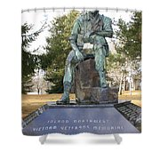 Inland Northwest Vietnam Veterans Memorial Shower Curtain