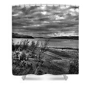 Inland Sea At Skye Shower Curtain