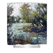 Inlet Haven Shower Curtain