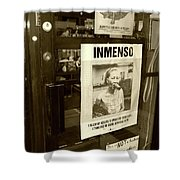 Inmenso Cohiba Shower Curtain