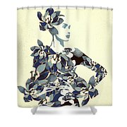 Inner Beauty II Shower Curtain