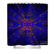 Inner Glow - Abstract Shower Curtain