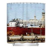 Inner Harbor Shower Curtain
