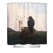 Inner Journey Shower Curtain