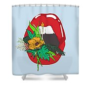 Inner Oasis Shower Curtain