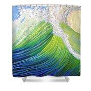 Inner Ocean - Exaltation Shower Curtain