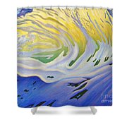Inner Ocean - Joy Shower Curtain