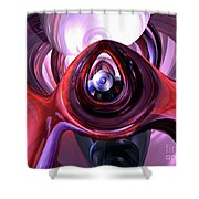 Inner Peace Abstract Shower Curtain