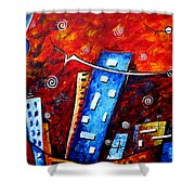 Inner Sanctuary By Madart Shower Curtain