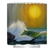 Inner Tide Shower Curtain