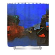 Inner Tones And The Vibrations  Shower Curtain