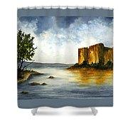 Innischonnel Castle Shower Curtain