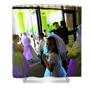 Innocence 1 Shower Curtain
