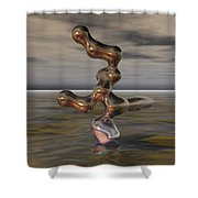 Innovation The Leap Of Imagination  Shower Curtain