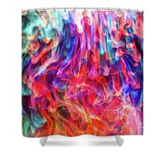 Insane In The Membrane Shower Curtain