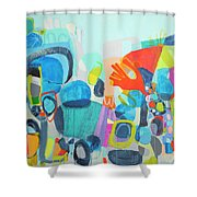 Insatiable Shower Curtain