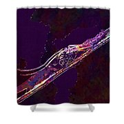 Insect Macro Close Up Magnification  Shower Curtain