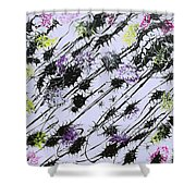 Insects Loathing - V1db100 Shower Curtain