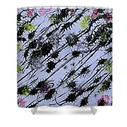 Insects Loathing - V1lle30 Shower Curtain