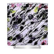 Insects Loathing - V1vhkf100 Shower Curtain
