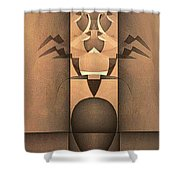 Insectum Shower Curtain
