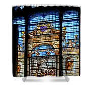 Inside Chantilly Castle France Shower Curtain
