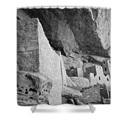 Inside Cliff Palace #2 Shower Curtain