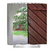 Inside Home Shower Curtain