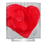 Inside My Heart 2 Shower Curtain