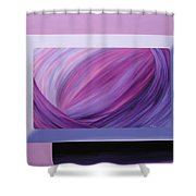 Inside Purple Shower Curtain