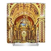 Inside The Basilica Shower Curtain