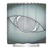 Inside The Eye Shower Curtain