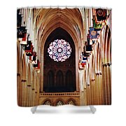Inside The National Cathedral Shower Curtain