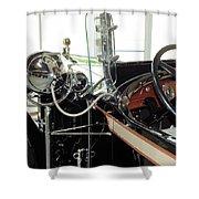 Inside The Packard - 2 Shower Curtain