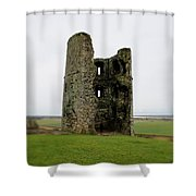 Inside The Ruins Shower Curtain