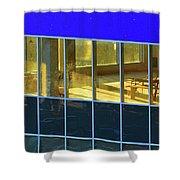 Inside The Windows  Shower Curtain
