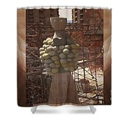 Inspirational Statue Photography Graphic Art Sagrada Temple Download  Personal  Commercial Projects  Shower Curtain